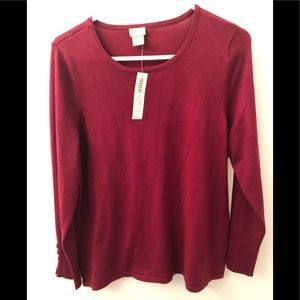 Chico's size 2 (large) red sweater